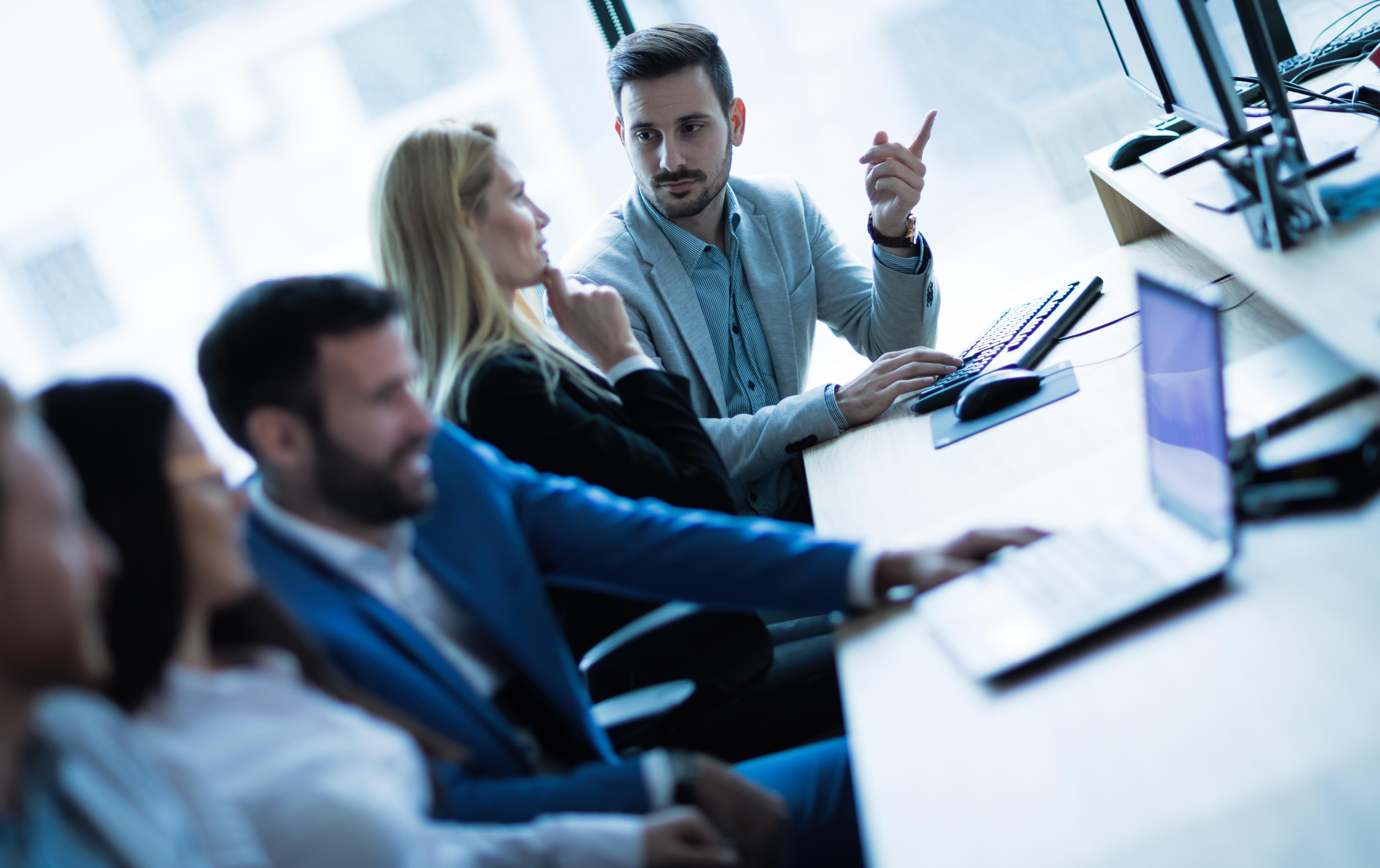 team kariera rekrutacja praca informatyk together in office